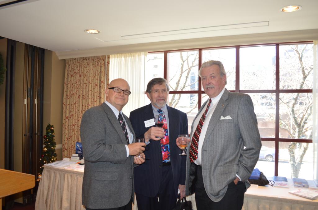 1 Bruce Bernstein, Phil Shuey-SSF Chair Elect, D.A. Bertram